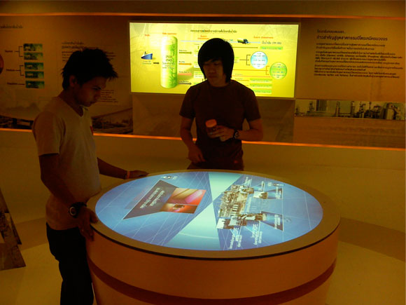 Installing IRPC touch exhibit