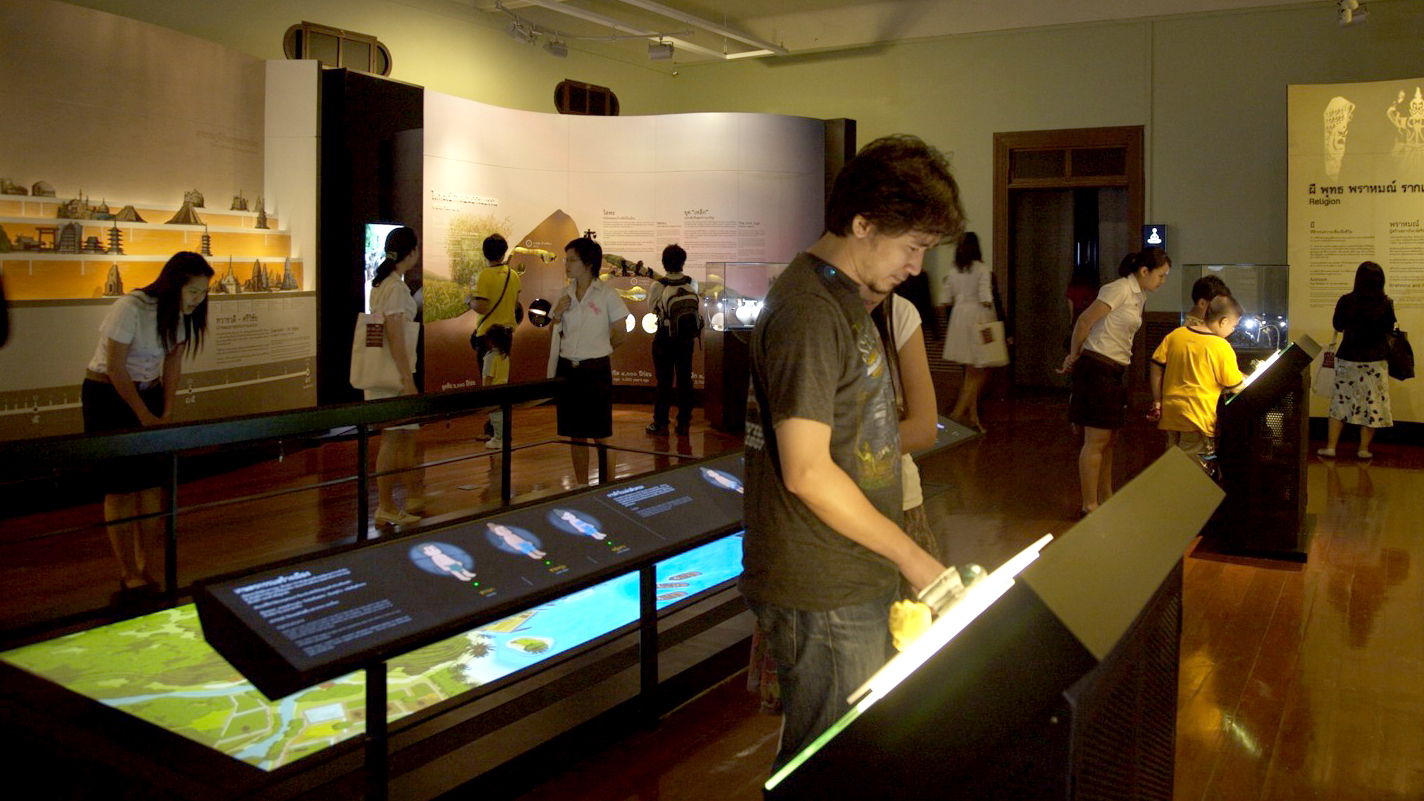 Siam Life – Interactive Touch Kiosk