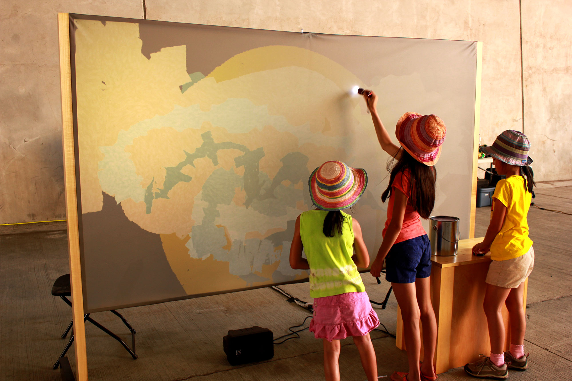 Sing and Paint, outdoor